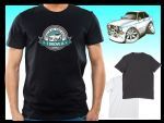 KOOLART BACK IN THE DAY Slogan Design for Retro Mk2 Ford Escort Mexico mens or ladyfit t-shirt